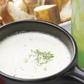 料理メニュー写真【6種類から選べるチーズソース】豆乳クリームフォンデュ