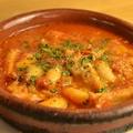 料理メニュー写真イタリア風モツ煮込み