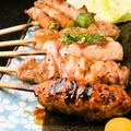 料理メニュー写真おまかせ串焼き盛り合せ(5本)