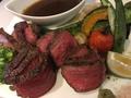 料理メニュー写真和牛もも肉の鉄板焼き