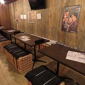 《8・12名様~》ご利用可能になっております♪会社宴会等に最適の席環境になっております♪宴会コースをはじめ、それとともにしっかりと飲み放題も完備しておりますのでご安心ください!席の雰囲気も変わりましたので上司の方も安心して連れてこられます!