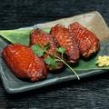 料理メニュー写真静岡いきいき鶏手羽中の燻製