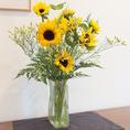 季節の花々もお楽しみください。