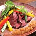 料理メニュー写真和牛ハラミステーキ