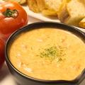 料理メニュー写真【6種類から選べるチーズソース】完熟トマトクリームフォンデュ