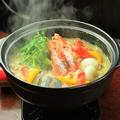 料理メニュー写真グリーンカレー鍋(1人前)