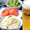 料理メニュー写真自慢のポテトサラダ