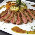料理メニュー写真【ビーフステーキ】加古川「志方牛」のサーロインステーキ