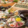 生でも加熱でも栄養満点の野菜は旨味と甘味が凝縮され肉料理との相性も抜群!鮮魚は日本全国から毎日直送される当店の自慢!質の良い魚を目利きして仕入れていただいております。素材の鮮度にこだわり、味を落とさず食材の味を最大限に表現したお料理をお届け。銘酒「八海山」を使用したお料理は当店でしか味わえない逸品◎