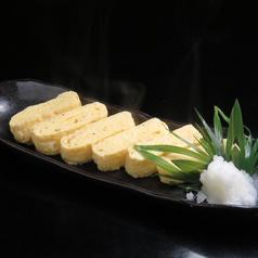 料理メニュー写真自家製玉子焼き