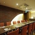 12~18名様までご利用可能の完全個室。クロークも完備しております。ご会合・ご宴席にオススメです!!※室料無料