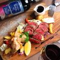 料理メニュー写真5種類から選べる肉3種グリルプレート