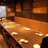 8~12名様までのテーブル個室です