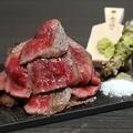 料理メニュー写真静岡産熟成牛(ドライエイジングビーフ)のステーキ