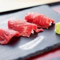 料理メニュー写真越後牛の肉寿司(4貫)