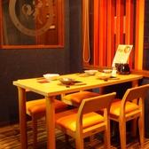1Fは【テーブル席】(4名×2)(個室ではありません)