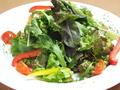 料理メニュー写真アンチョビソースのグリーンサラダ