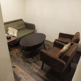 2階:4名様の個室です。少人数の宴会や女子会にもオススメのお部屋です。ソファーでまったりとお過ごしください。