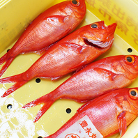 鮮魚・旬菜!美味しいものをお召し上がりいただくために