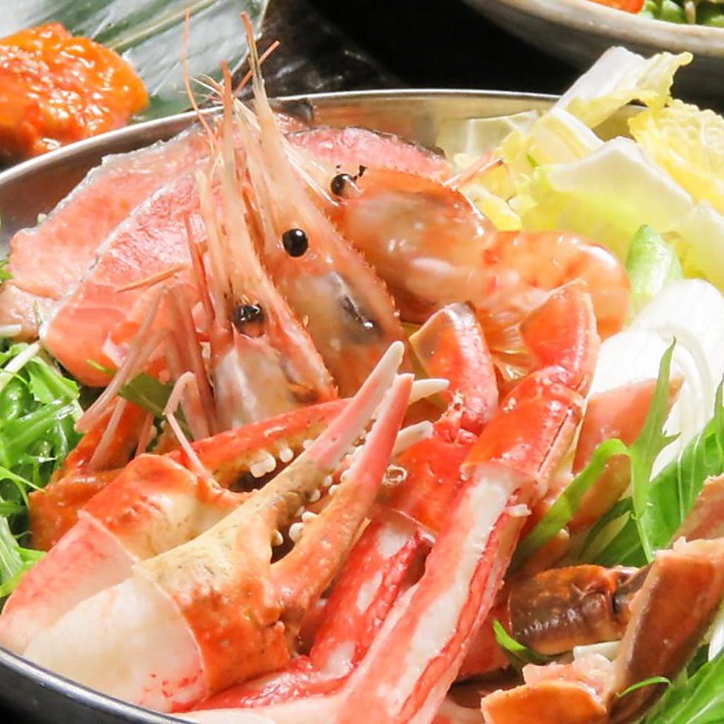 豪華!海鮮鍋(1480円)は観光客や家族でのご利用にもオススメ★