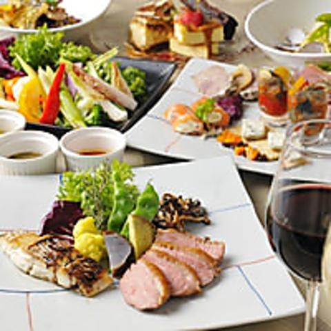 【歓迎会/スタンダード】◆2時間飲み放題付きお料理全7品4500円