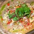 料理メニュー写真明石蛸のカルパッチョ