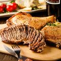 料理メニュー写真肉盛り3種