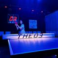卓球 3ブース 【卓球台サイズ】国際規格W2740×D1525×H760