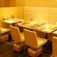 暖色系の明かりで雰囲気抜群◎人気のスンドゥブを食べながら、ほっこりしませんか??