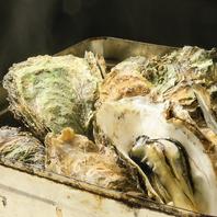 名物!牡蠣のカンカン焼き