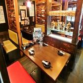 【1Fテーブル席】和情緒溢れる店内は居心地抜群!アットホームな落ち着ける雰囲気