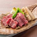 料理メニュー写真【岐阜】牛肉と竹の子の朴葉焼き