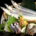 料理メニュー写真【北海道根室産・秋刀魚】刺身・焼き・押し寿司…