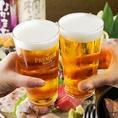 のどぐろと相性抜群な焼酎や日本酒を豊富に取り揃えております。沢山のお酒を楽しみたいお客様はお好きな焼酎を3種類お選び頂けるきき酒がおすすめです。接待やお仕事帰りの一杯、ご宴会などに是非ご利用下さい。もちろん焼酎や日本酒以外にもビールやワイン、サワーなどもご用意致しております♪