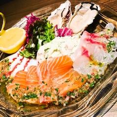 料理メニュー写真Lizarran西新宿名物のリザランカルパッチョ (ハーフサイズ)