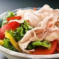 料理メニュー写真梅山豚の冷しゃぶサラダ