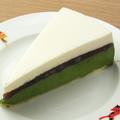 料理メニュー写真宇治抹茶のケーキ