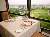 富山城の見えるお席。