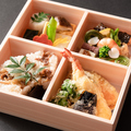 料理メニュー写真花 ~季節の彩り弁当~