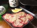 料理メニュー写真ネギ塩牛タン陶板焼き