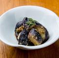 料理メニュー写真なすの胡麻山椒和え