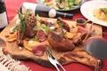 料理メニュー写真カサノバ名物 肉盛りプレート