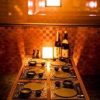 当店の個室空間で宴会、飲み会、歓送迎会etc…