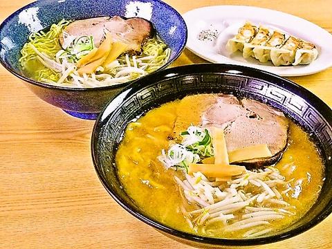 タレ・麺とも「仁力」オリジナルのこだわりの味!限定メニューも人気♪