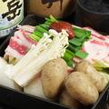 料理メニュー写真【春鍋】新たまねぎと新じゃがの牛すき鍋