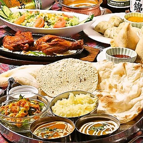 カレーの匂いに誘われて・・・ 落合でお手頃本格インド料理を楽しむ。