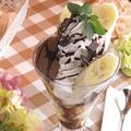 料理メニュー写真チョコレートパフェ