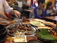 韓国の旅行の相談。