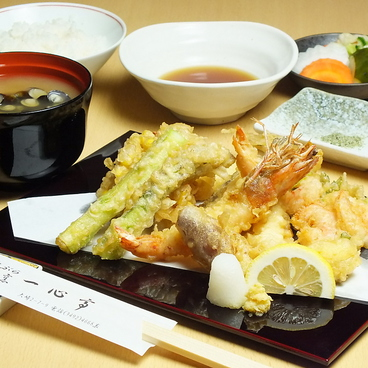 天ぷら割烹 一心亭のおすすめ料理1