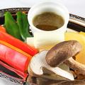 料理メニュー写真焼き野菜盛り4種